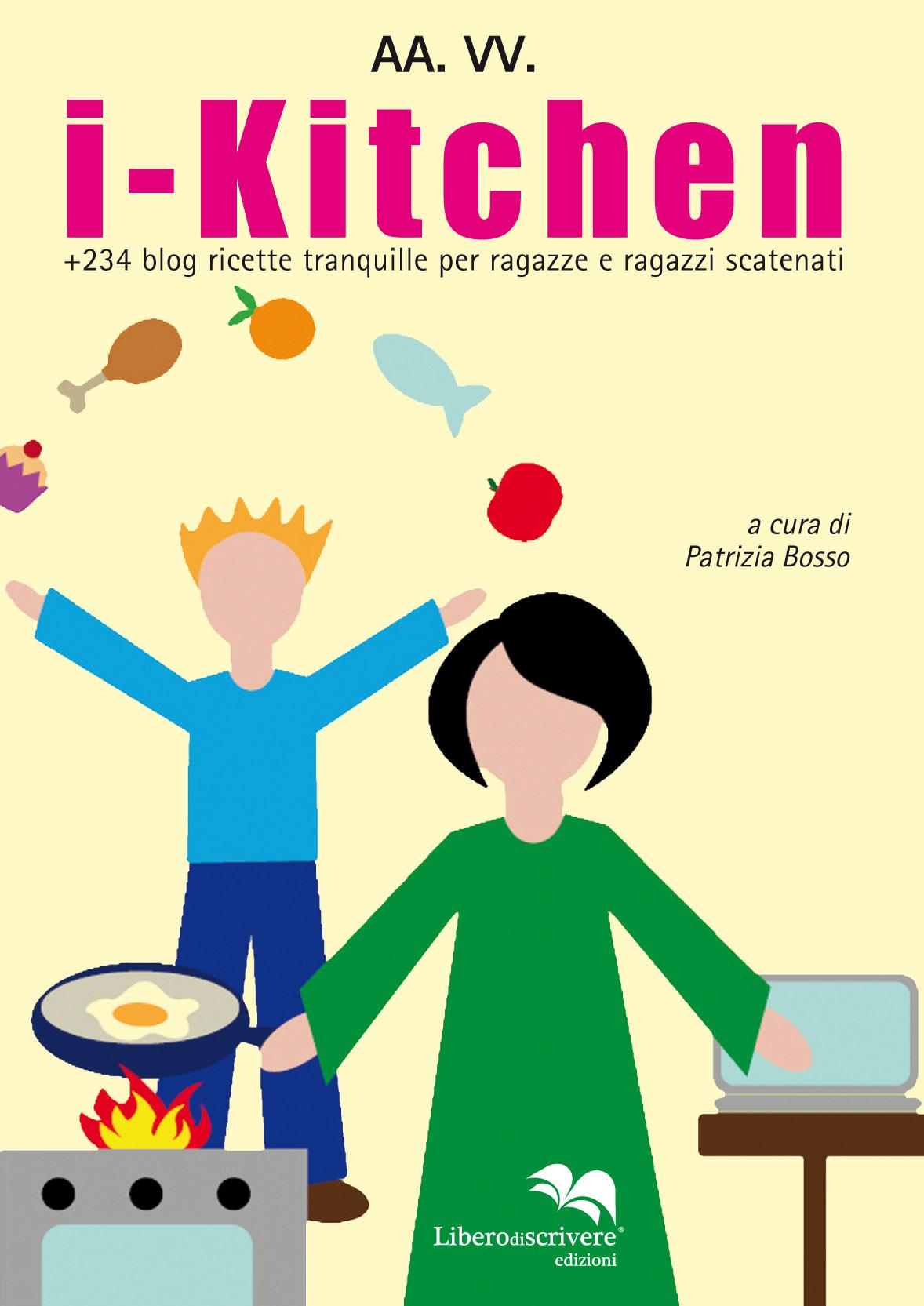 <b> i-Kitchen:</b> <br>  il libro per  i piccoli della Casa Famiglia Gulliver
