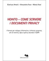 HOWTO - COME SCRIVERE I DOCUMENTI PRIVACY